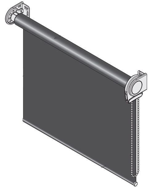 Рулонная штора XL