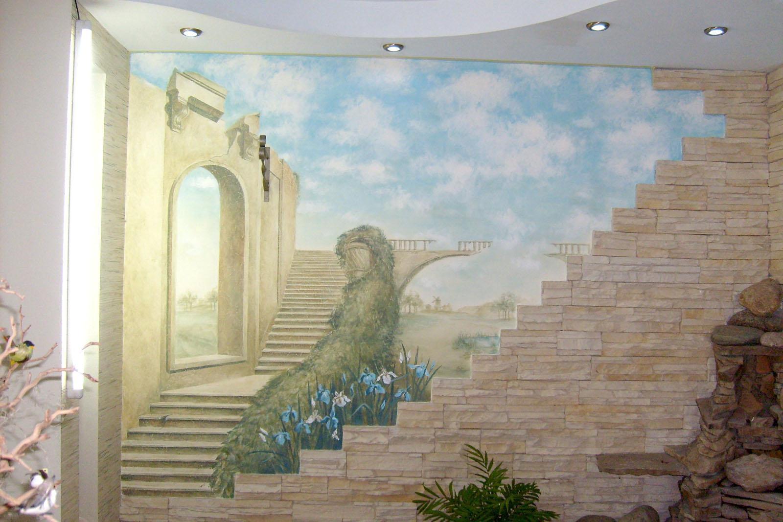 Художественная роспись стен