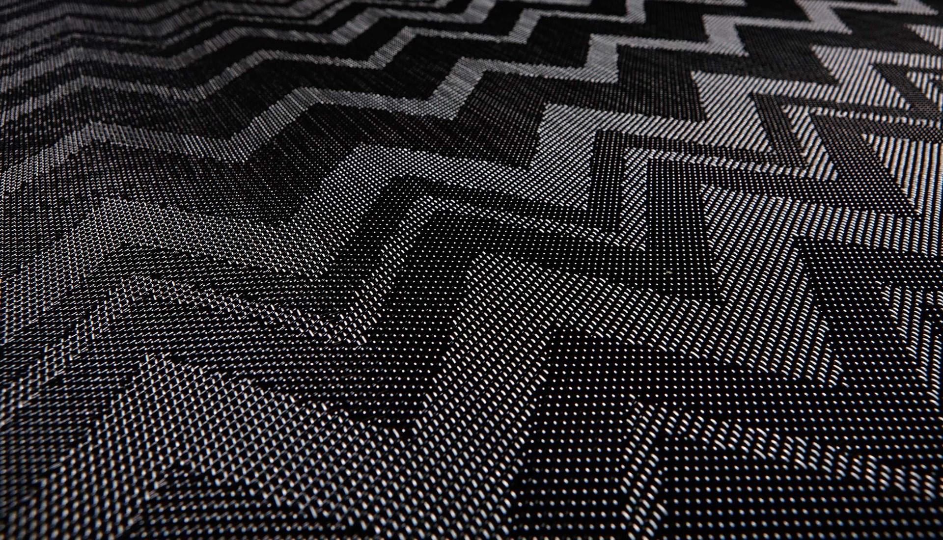 Линолеум Zigzag Black