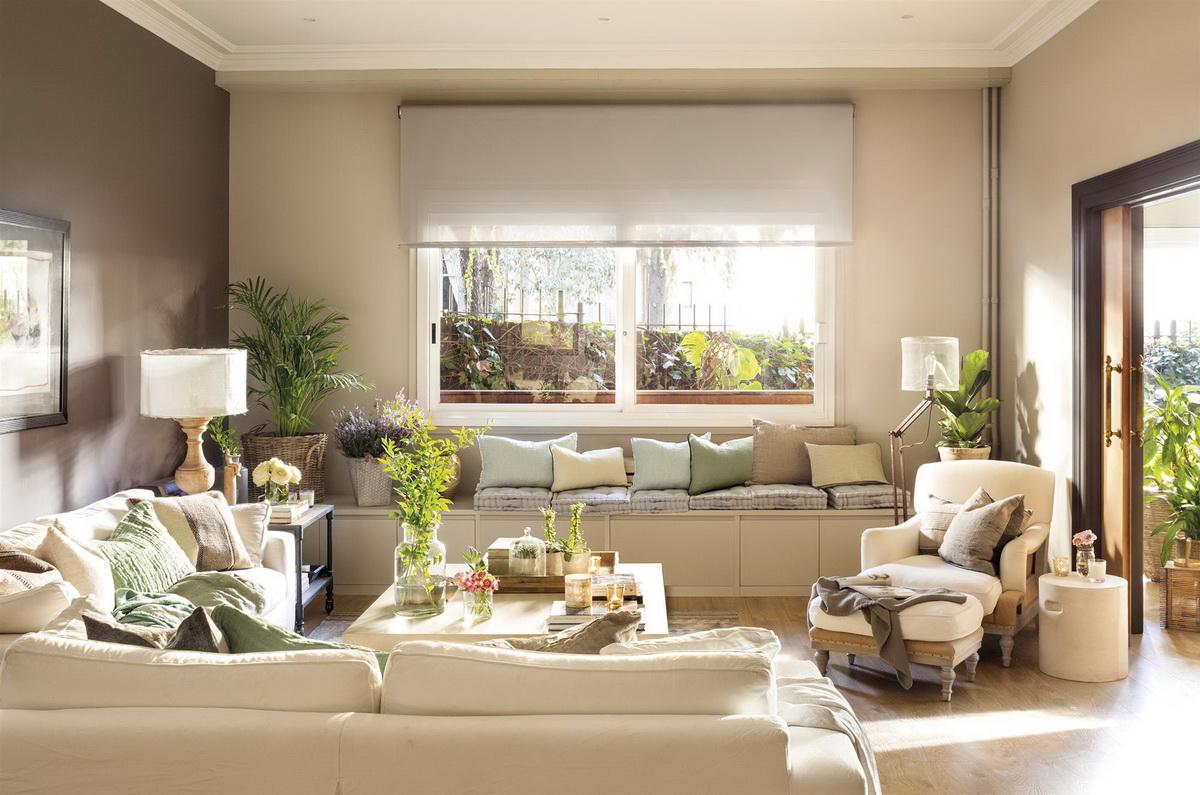 Модные тренды: шторы и ткани для гостиной