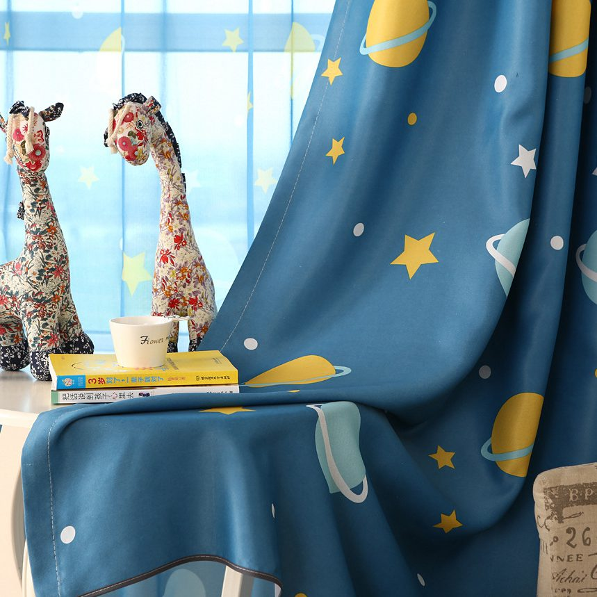 Советы по выбору занавесок / штор для детской комнаты